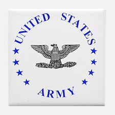 Army-Colonel-Blue.gif Tile Coaster