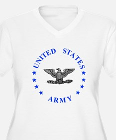 Army-Colonel-Blue T-Shirt