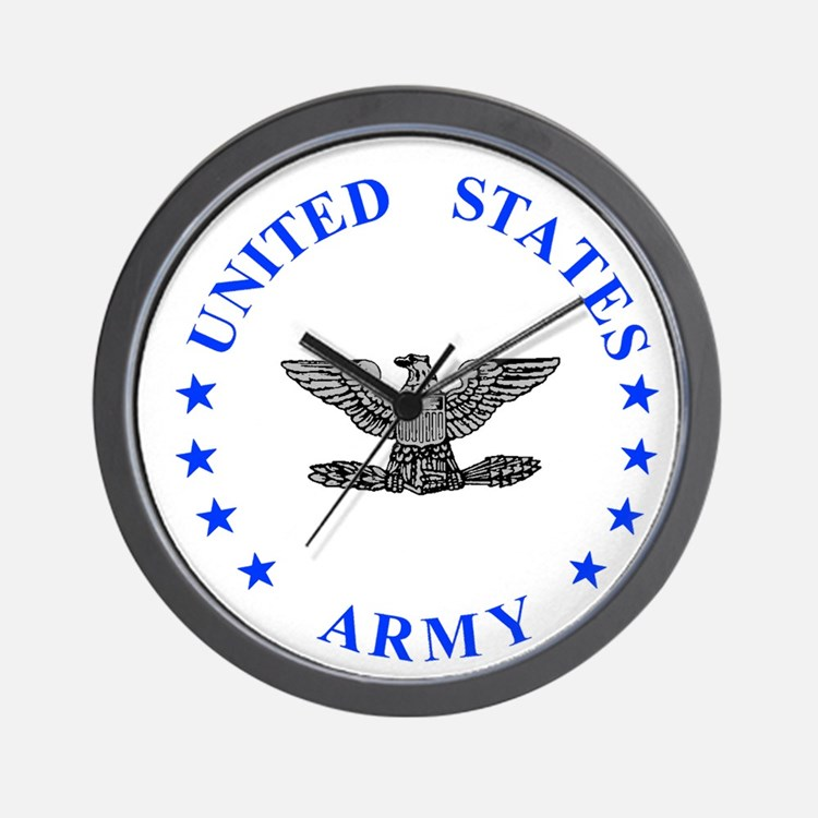 Army-Colonel-Blue.gif Wall Clock