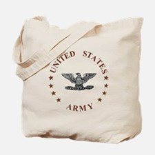 Army-Colonel-Brown.gif Tote Bag