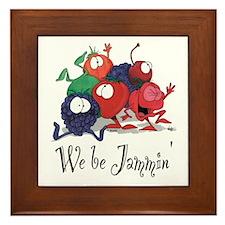 We Be Jammin Kitchen Stuff Framed Tile