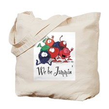 We Be Jammin Kitchen Stuff Tote Bag