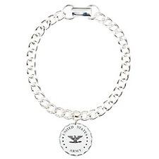 Army-Colonel-Green.gif Charm Bracelet, One Charm