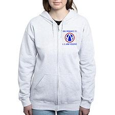 USAR-189th-Ordnance-Co-Shirt-Bl Zip Hoodie