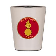 Army-Ordnance-Corps-Plaque-Scarlet-Bonn Shot Glass