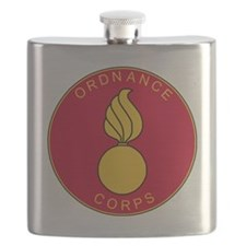 Army-Ordnance-Corps-Plaque-Scarlet-Bonnie.gi Flask