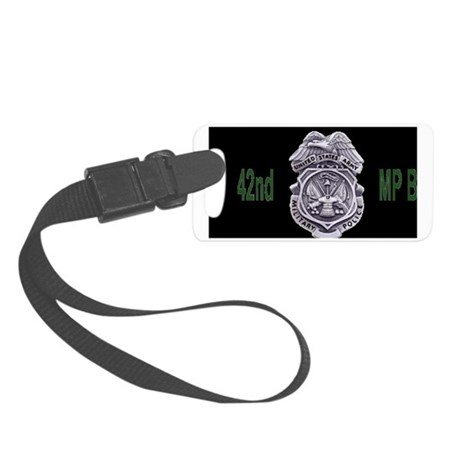 Army-42nd-MP-Bde-Cap3.gif Small Luggage Tag