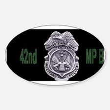 Army-42nd-MP-Bde-Cap3.gif Sticker (Oval)