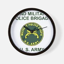 Army-42nd-MP-Bde-Shirt-2.gif Wall Clock