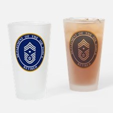 USAF-Retired-E9-First-Sergeant.gif Drinking Glass