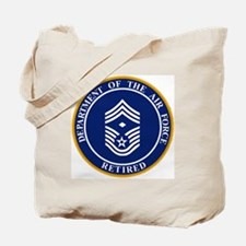 USAF-Retired-E9-First-Sergeant.gif Tote Bag