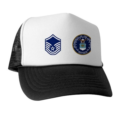 USAF-Retired-MSgt-Coffee-Cup.gif Trucker Hat