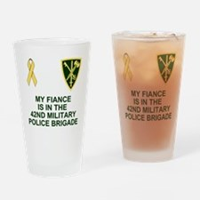 Army-42nd-MP-Bde-My-Fiance.gif Drinking Glass