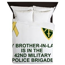 Army-42nd-MP-Bde-My-Brother-In-Law.gif Queen Duvet