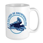 Snowmobile Large Mug