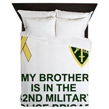 Army-42nd-MP-Bde-My-Brother.gif Queen Duvet