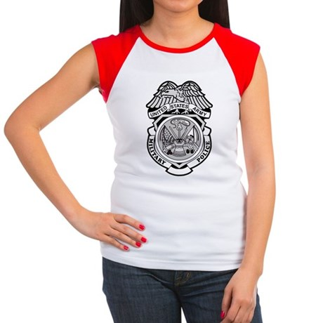 Army-MP-Badge-Bonnie.gi Women's Cap Sleeve T-Shirt