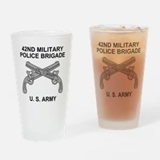 Army-42nd-MP-Bde-Shirt-3.gif Drinking Glass