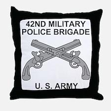 Army-42nd-MP-Bde-Shirt-3.gif Throw Pillow