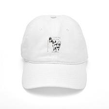 I Love My English Sheepdog Baseball Cap