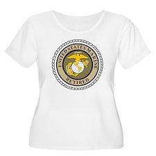 USMC-Retired- T-Shirt