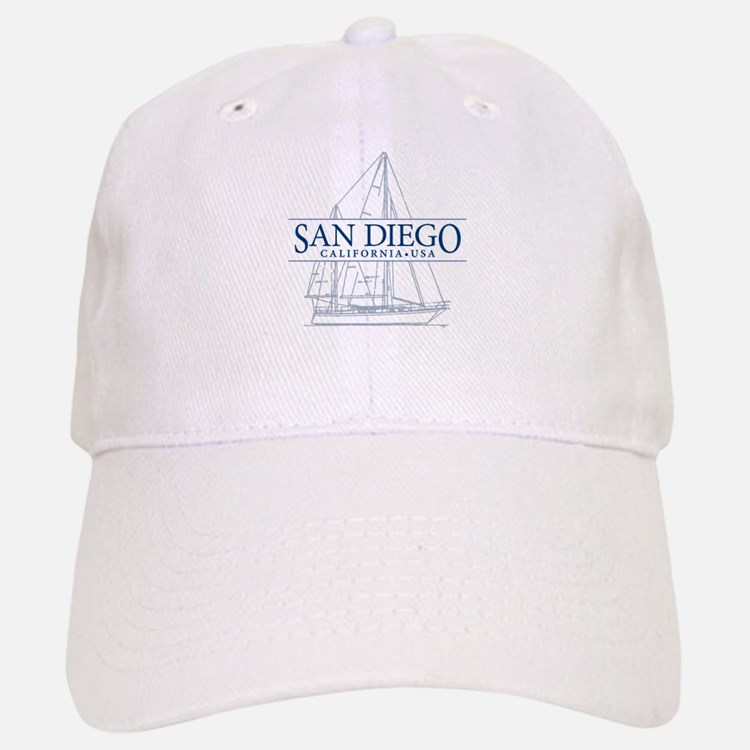 San Diego - Baseball Baseball Cap
