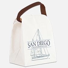 San Diego - Canvas Lunch Bag