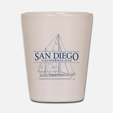San Diego - Shot Glass