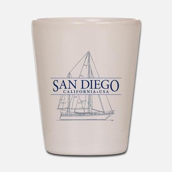 San Diego - Shot Glass