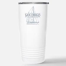 San Diego - Stainless Steel Travel Mug