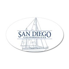 San Diego - Wall Decal