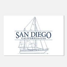 San Diego - Postcards (Package of 8)