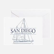 San Diego - Greeting Card