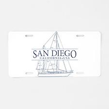 San Diego - Aluminum License Plate
