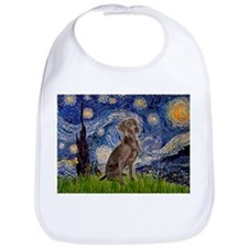 Starry Night & Weimaraner (Nv Bib