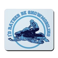 Snowmobile Mousepad