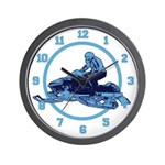 Snowmobile Wall Clock
