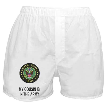 Army-My-Cousin-Sticker.gif Boxer Shorts
