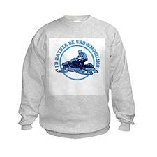 Snowmobile Sweatshirt