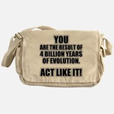 4 Billion Years of Evolution Messenger Bag