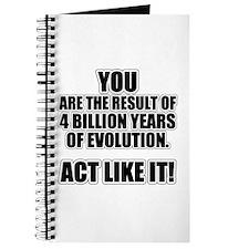 4 Billion Years of Evolution Journal