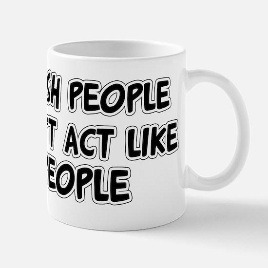 I Wish People Mug