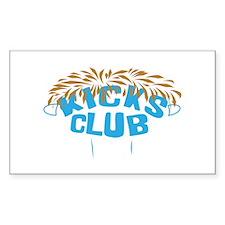 KICKS Club Elmer head Decal