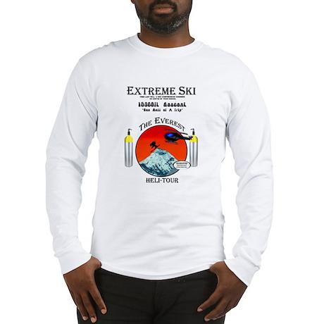 Heli Skiing Mt. Everest Long Sleeve T-Shirt