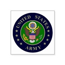 "Army-Logo-WW!!.gif          Square Sticker 3"" x 3"""