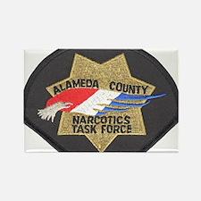 Alameda County NTF Rectangle Magnet