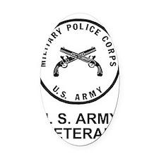 Army-MP-Veteran-Shirt-3.gif        Oval Car Magnet