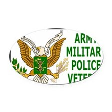 Army-MP-Veteran-Sticker.gif        Oval Car Magnet