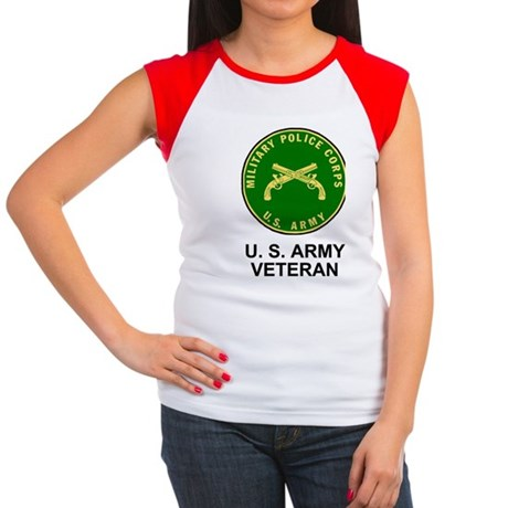 Army-MP-Veteran-Shirt-2 Women's Cap Sleeve T-Shirt