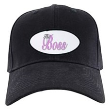 Pink Boss Lady Baseball Hat